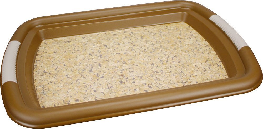 Cork IML used on a tray - Global Roto Shekaa